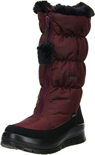 Vista Damen Winterstiefel Snowboots Rot