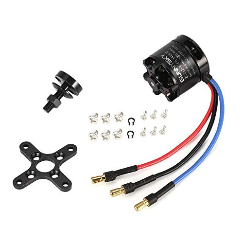 Yaoaoden SUNNYSKY X2212 1400KV II 2-4S Brushless Motor Short Shaft für RC 400-800g Quad-Hexa Copter Multicopter DJIF450 F550 (Quad-copter Motor)