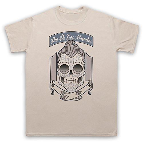 Dia De Los Muertos Mexican Day Of The Dead Herren T-Shirt Beige