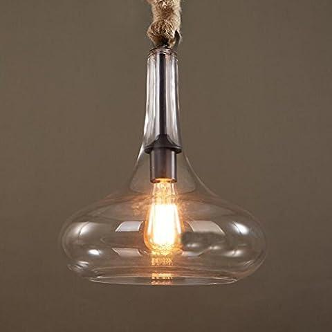 Adelaide - lampadario in vetro europeo ristorante bar moderno e minimalista caffè negozio di abbigliamento di illuminazione creativa