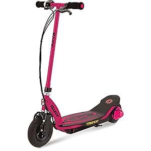 razor kids 39 power core e100 electric scooter pink medium. Black Bedroom Furniture Sets. Home Design Ideas