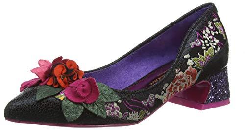 POEAB|#Poetic Licence by Irregular Choice Sway, Zapatos de tacón con Punta Cerrada para Mujer, Black...