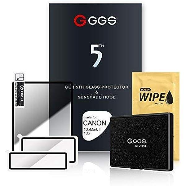 Ggs Larmor Displayschutzfolie Und Sonnenblende Für Kamera