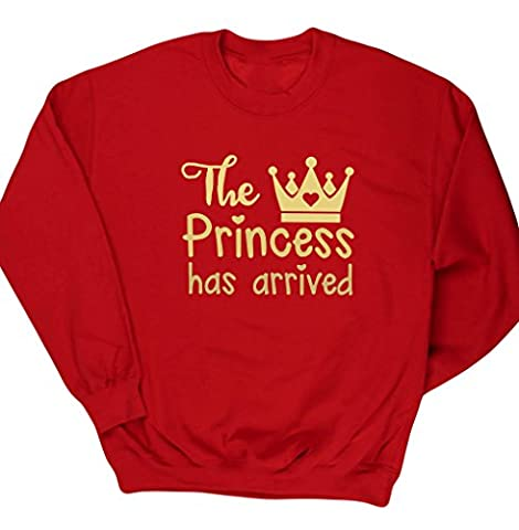 Costume Prince Childrens Fantaisie - HippoWarehouse - Sweat-shirt - Homme - rouge