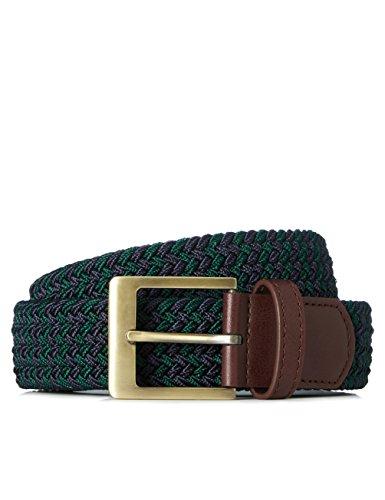 find. Cinturón Trenzado para Hombre, Multicolor...