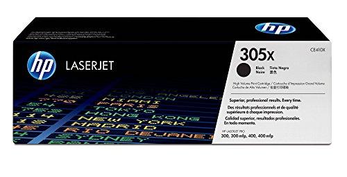 HP 305XL - Cartucho de tóner Original HP 305X de álta capacidad Negro para HP Lasert PRO 300, M351, M375, 400, M451, M475