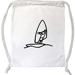 Azeeda 'Planche à Voile' Cordon de Serrage / Sac de Gym (DB00013403)