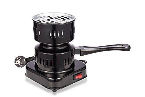 Juneo Cachimba eléctrica encendedor de carbón quemador de carbón 600W cachimba hotplate