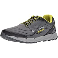 Columbia Montrail Men's Caldorado III Outdry Trail Running Shoe, Ti Grey Steel, Zour, 10 D US