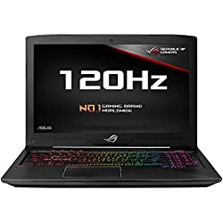 ASUS Rog Strix GL503GE-EN038T 15.6-inch Laptop (8th Gen Core i7-8750H/16GB/1TB Firecuda with 256GB PCIE SSDGB/Windows 10 (64bit)/4GB Graphics), Black Metal