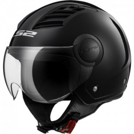 Tama/ño L LS2 305692002L Casco Track Solid Color Blanco