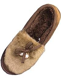 Scarpe Da Marrone it Riscaldanti Pantofole Amazon PBT66q