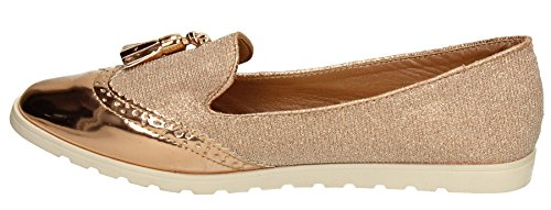 SwankySwans - Brogue donna Rose Gold