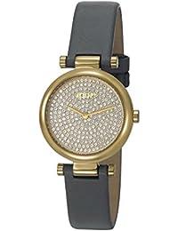 Joop! Damen-Armbanduhr MARTHA Analog Quarz Leder JP101722003