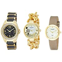 Akribos XXIV Women's 3 Watch Gift Set - AK766YG
