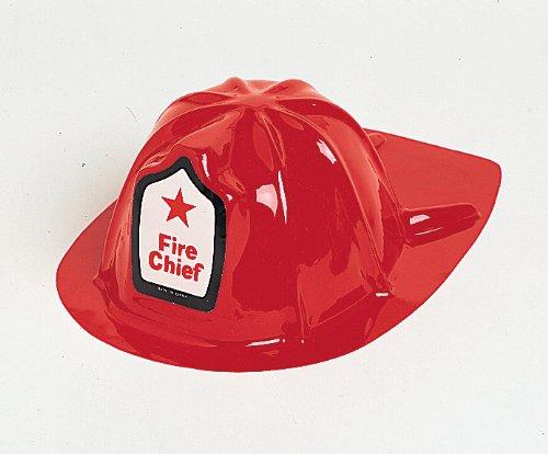 Feuerwehrhelm Feuerwehr Helm rot Feuerwehrmann Kostüm Karneval Fasching Faschingskostüm NEU