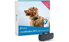 Tractive Localizador GPS para perros, rastreador con rango ilimitado, seguimiento de actividad, resistente al agua