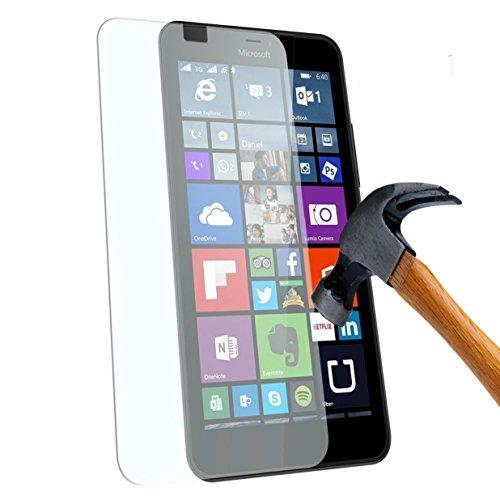 Tempered Glass Hartglas Bildschirmschutz/Bildschirmschutzfolie für Microsoft Lumia 650 4G/LTE Tempered Glass Screen Protector (Nokia) Lumia 650 Single/Dual Sim - XEPTIO UltimScreen Protector
