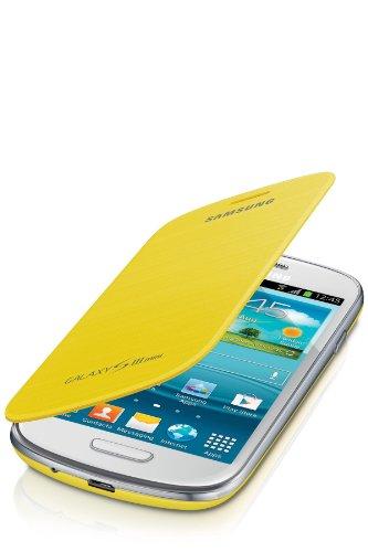 Samsung EFC-1M7FYEGSTD Flip Cover per Galaxy S3 Mini, Giallo