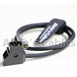 Alvin de cables Anton Bauer D-Tap a Lemo 2pin macho cable adaptador de alimentación para teradek Bond