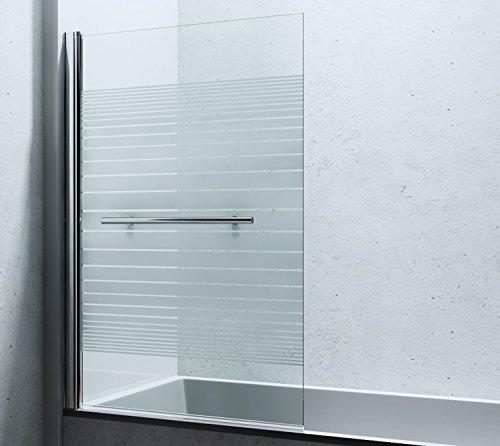 """Design Duschabtrennung """"Cortona"""", 6mm Sicherheitsglas, Nanobeschichtung"""