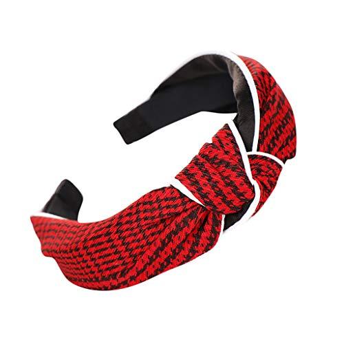 Haarbands,Sasstaids Mode Bogen Knoten Haarband Frauen Haar Kopfband Einfache Süße Mädchen Haar Stirnband