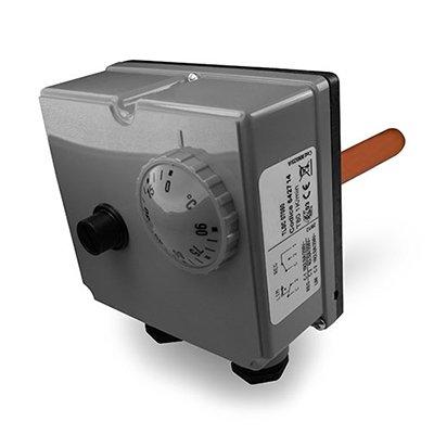 Doppelthermostat - Thermostat+Begrenzer +90°C bis 110°C