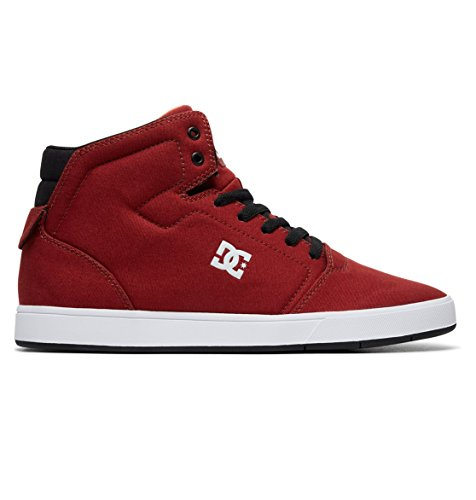 Dc-high-tops Rot Schuhe (DC Shoes Crisis High TX - High-Top Shoes - Hi Tops - Männer - EU 39 - Rot)