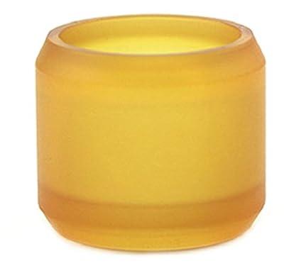 Advken Manta RTA Bulb Ersatzglas + O Ringe Dichtungen, Glas Tank PEI Gold 5,0 ml von Advken