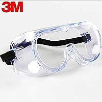 3M 1621 Anti-impact chemical splash safety goggles economy transparent lens goggles dust laboratory glass