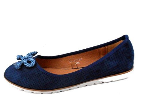 Rebelde , Damen Sneaker Blau