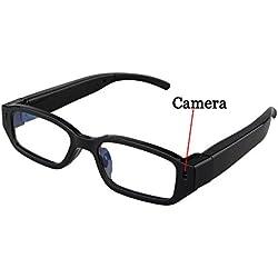 Mengshen mini gafas HD 1280 × 720p espía cámara ocultada Eyewear Cam DVR videocámara DV videocámara MS-HC14