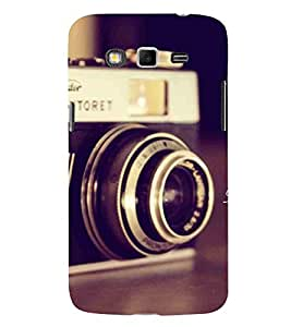 For Samsung Galaxy Grand 2 :: Samsung Galaxy Grand 2 G7105 :: Samsung Galaxy Grand 2 G7102 :: Samsung Galaxy Grand Ii vintage camera, camera, old camera Designer Printed High Quality Smooth Matte Protective Mobile Case Back Pouch Cover by APEX