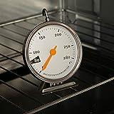 Gaddrt Ofenthermometer Backofenthermometer Edelstahl Temperaturgenaue Überwachung bis 280 ° C