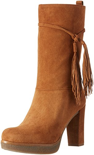 Unisa Usini_bs, Bottines à doublure froide femme Marron - Braun (Couro)