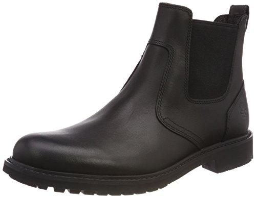 Timberland Pull Uomo Nero Stormbucks nero Chelsea Boots on Liscio 001 aTPqwBPxn5