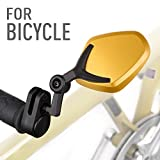 Magazi bar end mirrors Petal gold for bicycle - Best Reviews Guide