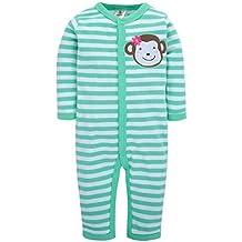 b728f7192305bc Fairy Baby lustige baby body langarm strampler ohne fuß schlafanzug winter  overall für jungen mädchen