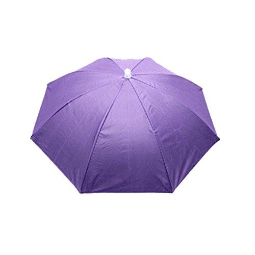 bar Sonnenschirm Hut Kopfbedeckung Kappe Kopf Hut Regenschirm Hut Neuheit nach Kostüm hut Ladies Mens Multi Color Festival hat für Golf Angeln Camping Outdoor (Zufällige Farbe) (Lady Rose Mädchen Kostüme)