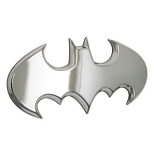 (Fan Emblems Batman Batwing Logo 3D Auto Emblem Chrom, DC Comics Automotive Aufkleber Abzeichen Biegt vollständig an Autos, Lastwagen, Motorräder, Laptops, Windows, fast alles haften)