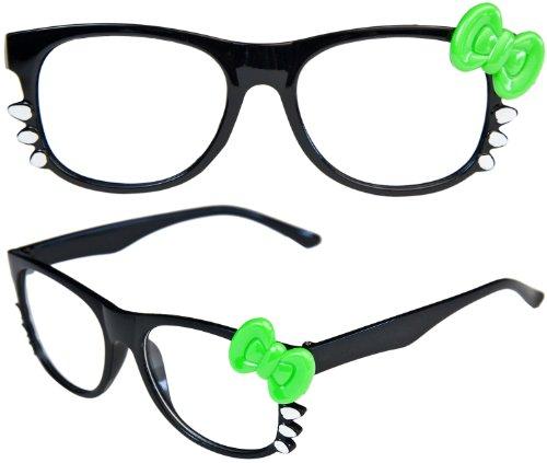 Studenten Streber Nerdbrille Kitty Style