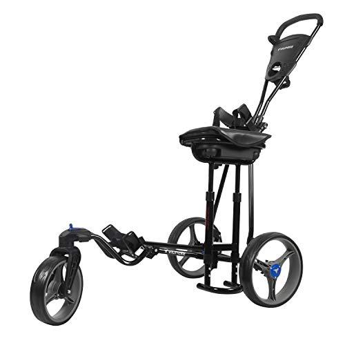 vilineke Golf Push Trolley, 3-Rad-Lenkrad 360 Vorderradsystem