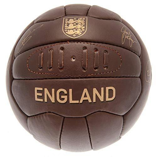 England F.A. Balón fútbol Americano Cuero marrón