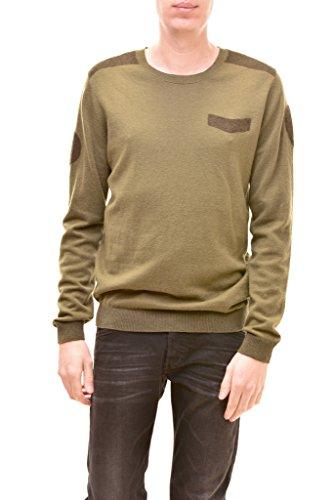 Diesel -  maglione  - uomo verde l
