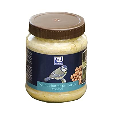 Cj Peanut Butter For Birds Original 330g (Pack of 8) from C J Wildbird Foods Ltd
