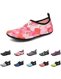 ByBetty Zapatos de Agua Unisex Zapatos de Playa Transpirables y de Secado  Rápido Esnórquel Natación Surf 56be4c12b4b