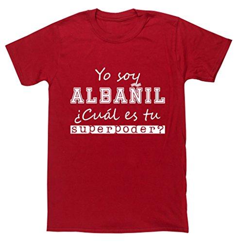 hippowarehouse-yo-soy-albanil-cual-es-tu-superpoder-camiseta-manga-corta-unisex