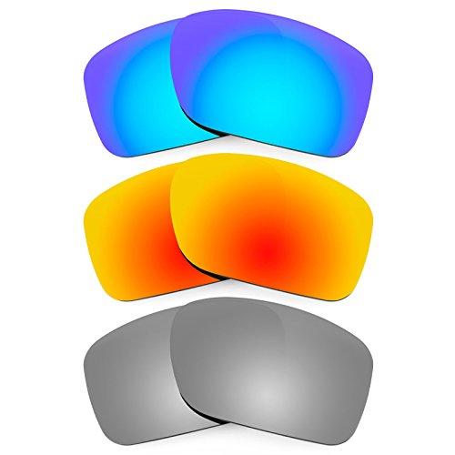 Revant Ersatzlinsen für Oakley Turbine Polarisiert 3 Paar Kombipack K014