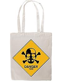 Breaking Bad Inspired Walter White Heisenberg Intoxic Design Tote Shopping Bag