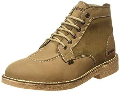 Kickers Legendry Boot LTHR Am, Bottes Classiques Homme - Marron (Marron foncé) - 45 EU (Taille Fabricant : 10.5 UK)